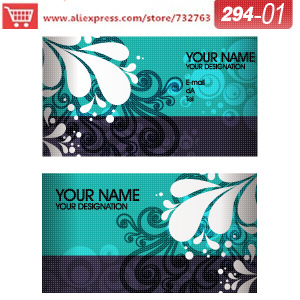0294-01 business card template for online printing service business cards on line free printable business cards(China (Mainland))