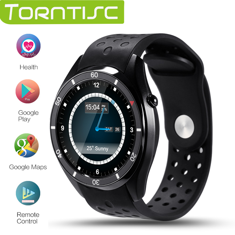 Torntisc I3 Android 5.1 OS Smart Watch MTK6580 512MB+4GB Support 3G wifi GPS Google play Heart Rate Monitoring ios android