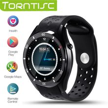Buy Torntisc I3 Android 5.1 OS Smart Watch MTK6580 512MB+4GB Support 3G wifi GPS Google play Heart Rate Monitoring ios android for $97.99 in AliExpress store