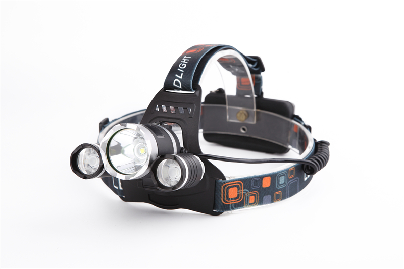 3x CREE XM-L XML T6 LED 5000Lm Rechargeable Headlamp Headlight Head lamp + AU/EU/US Charger +CAR Charger<br><br>Aliexpress