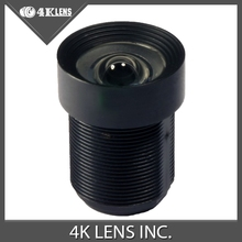 4K LENS 2.97mm Lens f/4.0 90D HFOV 5MP Wide Angle NON DISTORTION 1/2.5 for Sports Camera and DJI Drones Gimbal Factory Sale