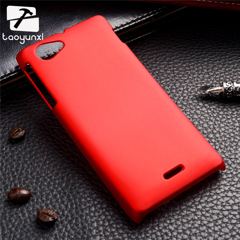 Colorful Oil-coated Rubber Matte Hard Back Case for Sony Xperia J ST26i 4.0inch Slim Frosted Matte back cover Plastic phone case(China (Mainland))