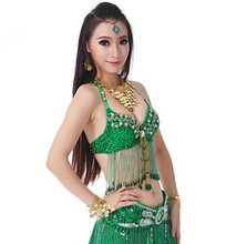 Buy green belly dance tops indian belly dance costumes sexy belly dance clothing belly dance bra for $25.90 in AliExpress store