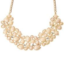 lackingone Vintage Popular Multicolor Pendant Necklace Collier Collar Statement Necklaces Pendants Jewelry Fashion Bijoux