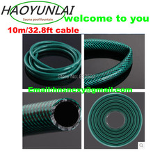 Free Shipping 10m/32.8ft soft plastic Explosion-proof thickening  and high wear-resisting antifreeze garden water hose(China (Mainland))