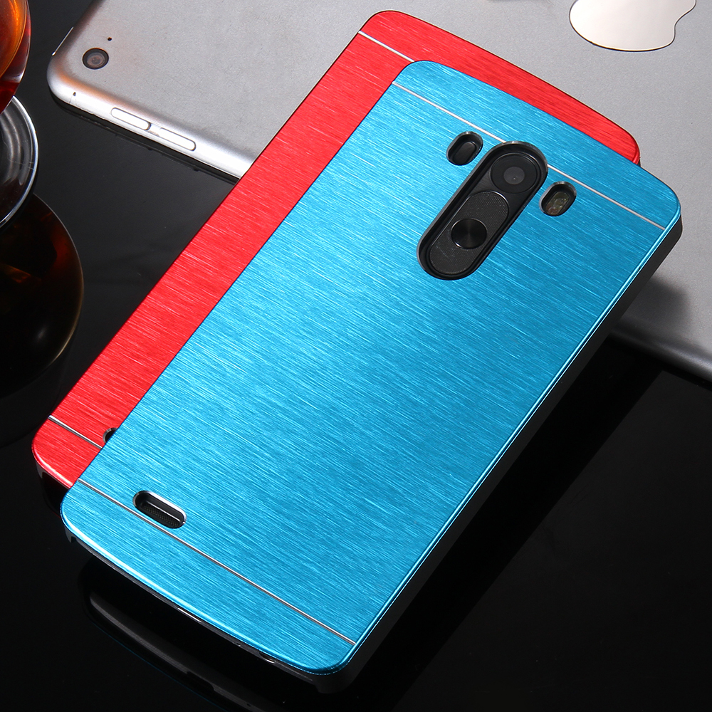 High Quality Gold Luxury Metal Aluminum Case For LG Optimus G3 G4 G3 Ultra Slim Shock Proof Back Cover Shell For LG G3 G4 G2(China (Mainland))