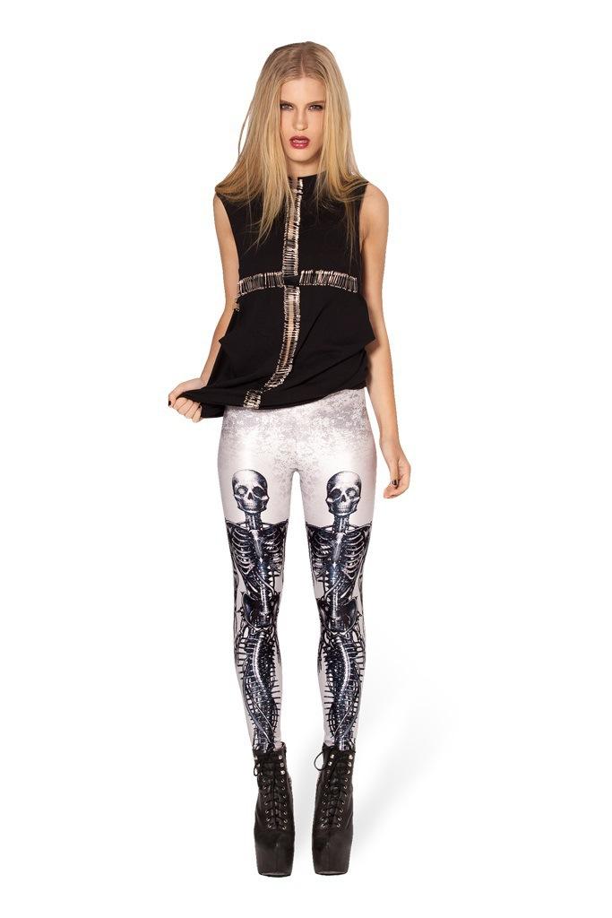 Free shipping New fashion explosion models Ms. printing printing Slim Leggings pencil pants ...