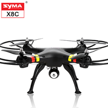 Original SYMA X8C X8 2.4G 4CH 6Axis Professional RC Drone Quadcopter With 2MP HD Camera Remote Control 4CH Helicopte