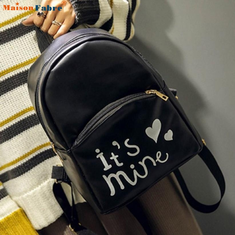 Fashion Women Backpack PU Leather School Bags designer Girls Top Comfystyle Handle Backpack san14pin