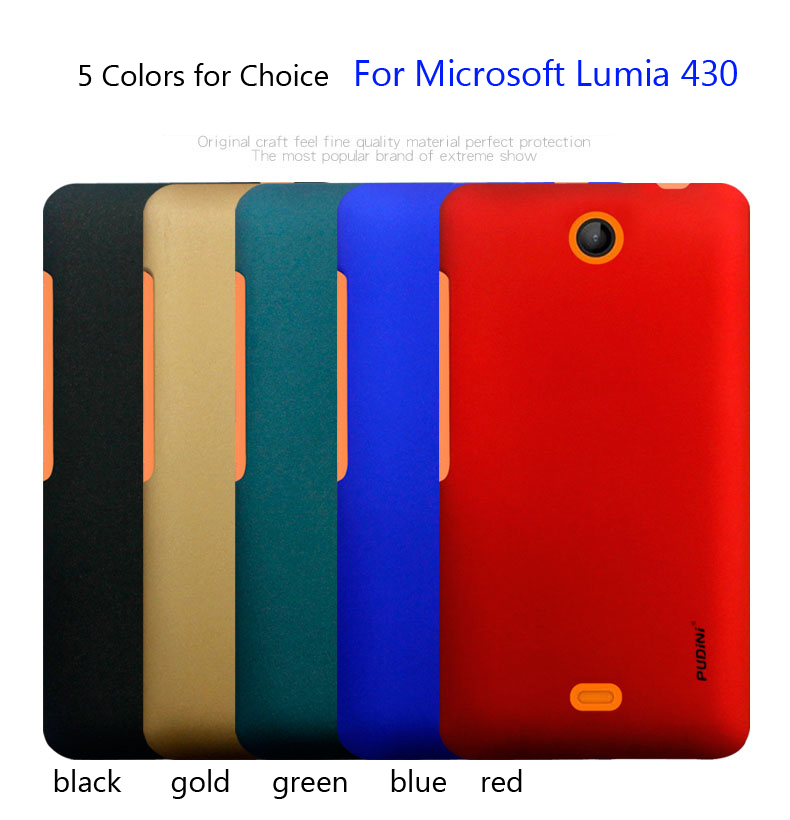 For Microsoft Lumia 430 Case Rubber Coating Cover Case Skin free ship(China (Mainland))