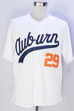 Bo Jackson Jersey White Baby Blue Auburn 29 100% Stitched(China (Mainland))