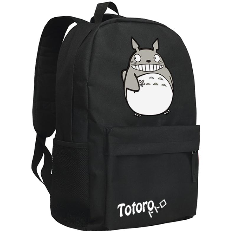 backpack2016women canvas japanese school bag Totoro backpack cute anime sac a dos leisure travel feminine bagpack youth(China (Mainland))
