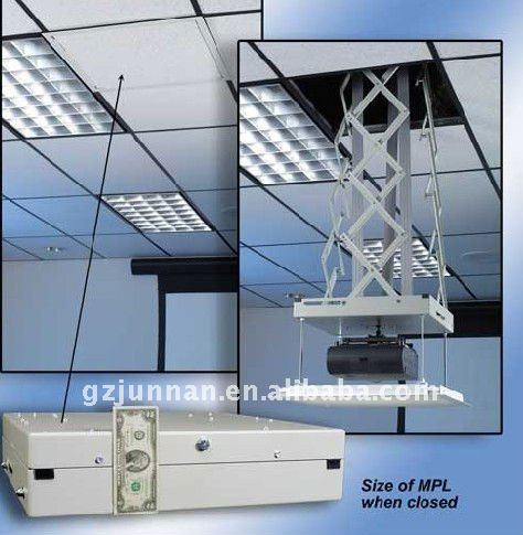 Buy Jn Motorized Ceiling Mount Projector Lift Of Wireless Control Equipment