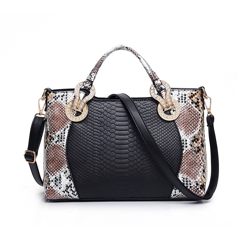 2016 New name brand handbags women bags designer famous serpentine bag ladies shoulder bag high quality leather handbag(China (Mainland))