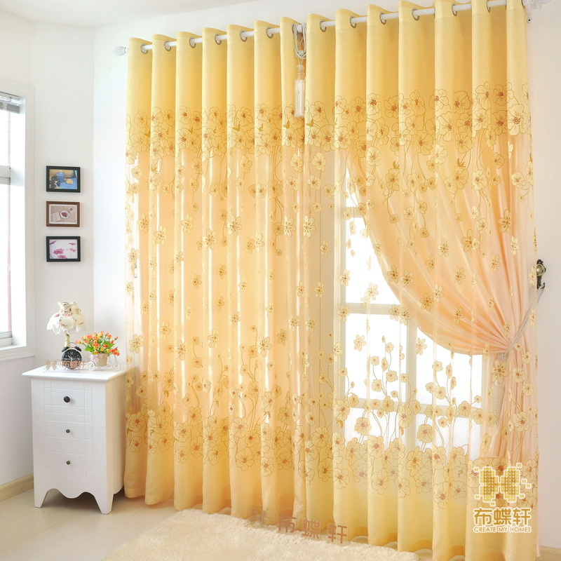 korean style vintage printing cloth for curtain promotion