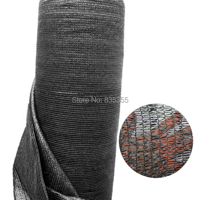 40% Black Sun Mesh Shade Sunblock Shade Cloth UV Resistant Net For Garden Flower Plant (6.5Ft x 10Ft/2Meters x 3Meters)(China (Mainland))