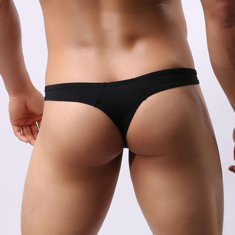 New Arrival brand underwear men sexy Briefs Bikini G-string Thongs Jockstrap men underwear Nylon T-back shorts BRAVE PERSON