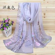 New 2016 Fashion Soft Thin Chiffon Silk Scarf Women Animal Bird printed Scarves Foulard Sjaal Cachecol Feminino(China (Mainland))