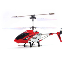 Syma S107G 3-Channel Mini Infrared Remote Control RC Helicopter Airplane with Built-in Gyro and LED Light (Red)