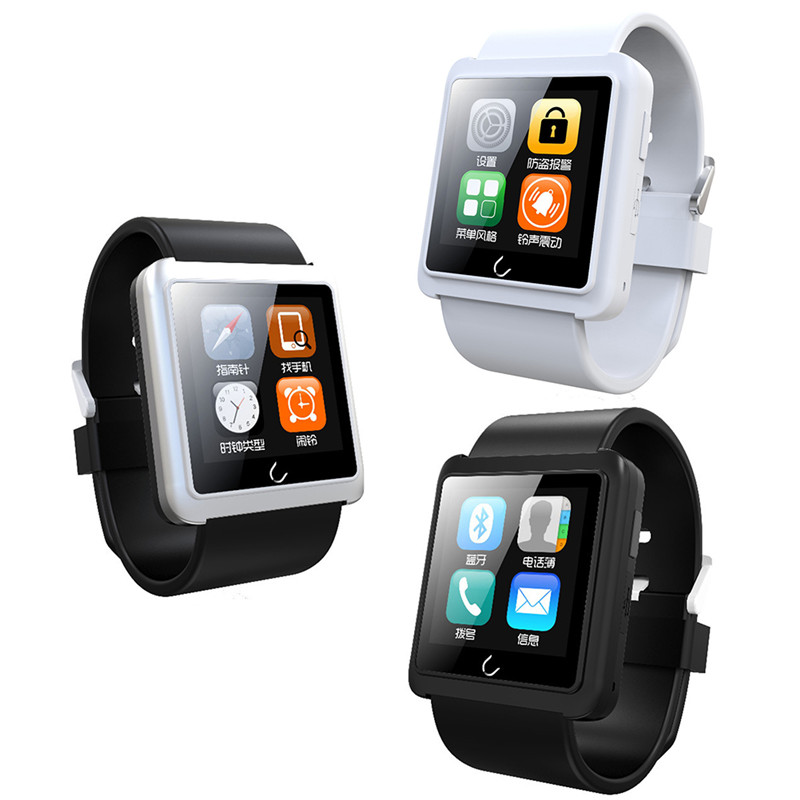 2015 New WristWatch U10L Bluetooth Watch sport Pedometer anti-hilang Smartwatch for intelligent IOS and Android Smartphones<br><br>Aliexpress