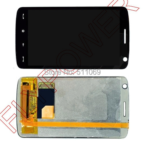 For HTC HD T8282 LCD Screen Display with Touch Screen Digitizer Assembly by free shipping(China (Mainland))