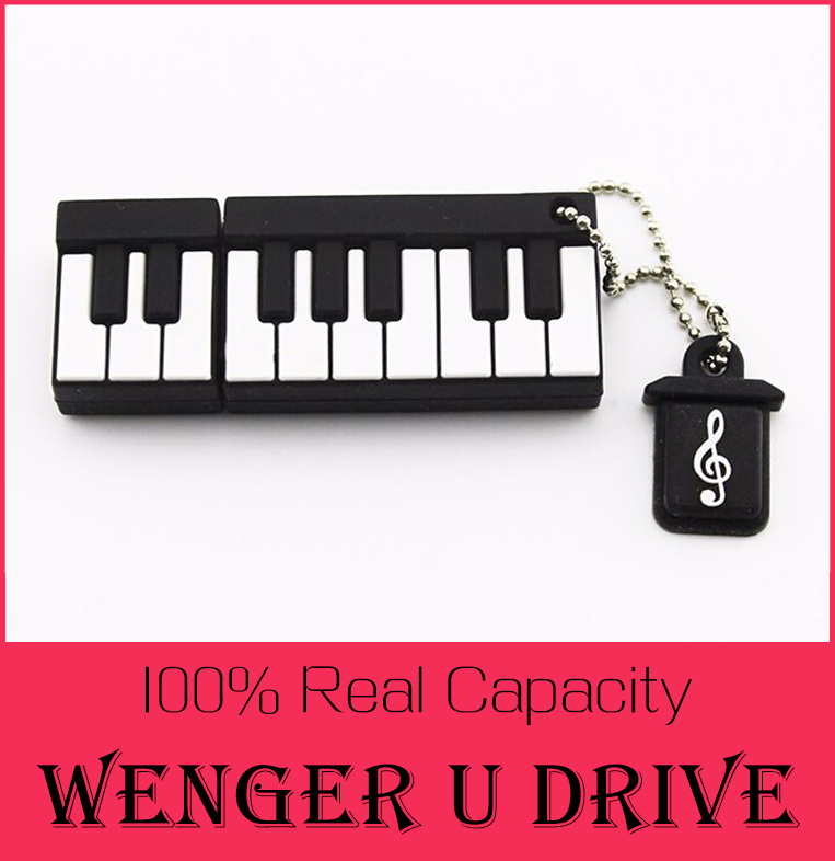 100% real capacity Retail Genuine Silicone Piano USB Flash Drive 512GB Thumb Pen drive Memory Stick Flash Disk 8G 16GB 32GB gift(China (Mainland))
