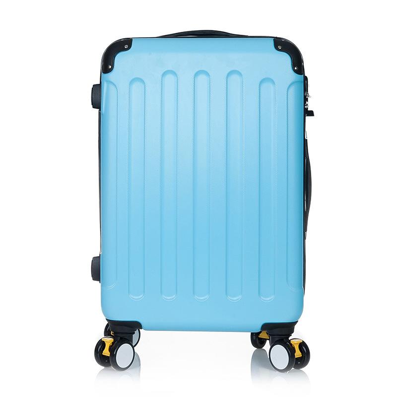"20"" 24"" 28"" rolling spinner wheels trolley suitcase luggage Man Women ABS traveler case Pull Rod tru"