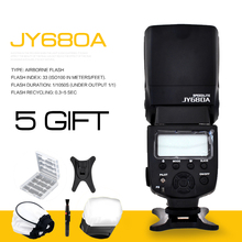 VILTROX JY-680A Universal LCD Flash Speedlight for Canon Nikon Pentax Olympus Cameras,with Free Bounce Diffuser(China (Mainland))