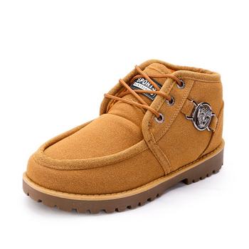 2015 мужские лодыжки кожаные сапоги весна осень зима для теплый снег загрузки новый водонепроницаемый мартин обувь для ходьбы туфли-botas Большой размер ZX0016