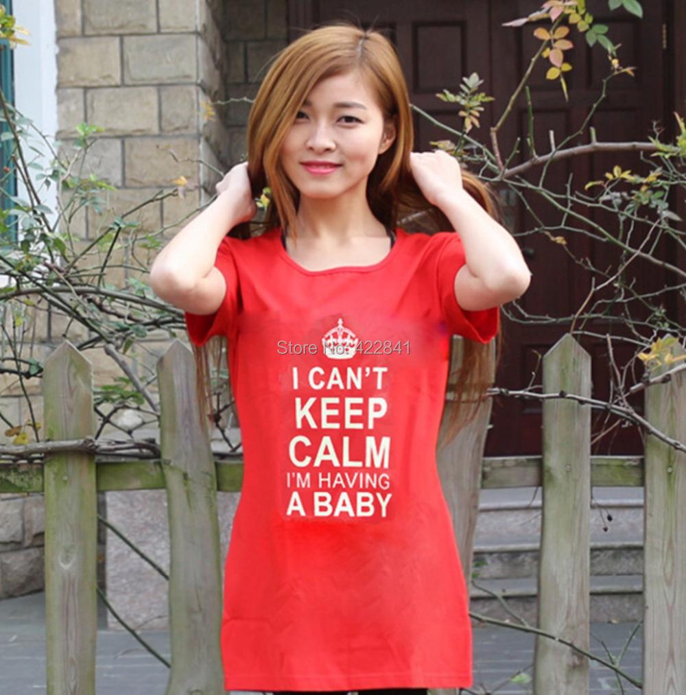 Summer Fashion Maternity Clothings 100% Cotton Plus Size ...