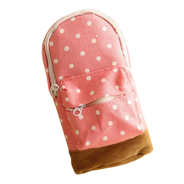 Cosmetic Makeup Pencil Case Storage Box Bag Wash Toiletry Pouch Travel Bag Purse Pink(China (Mainland))