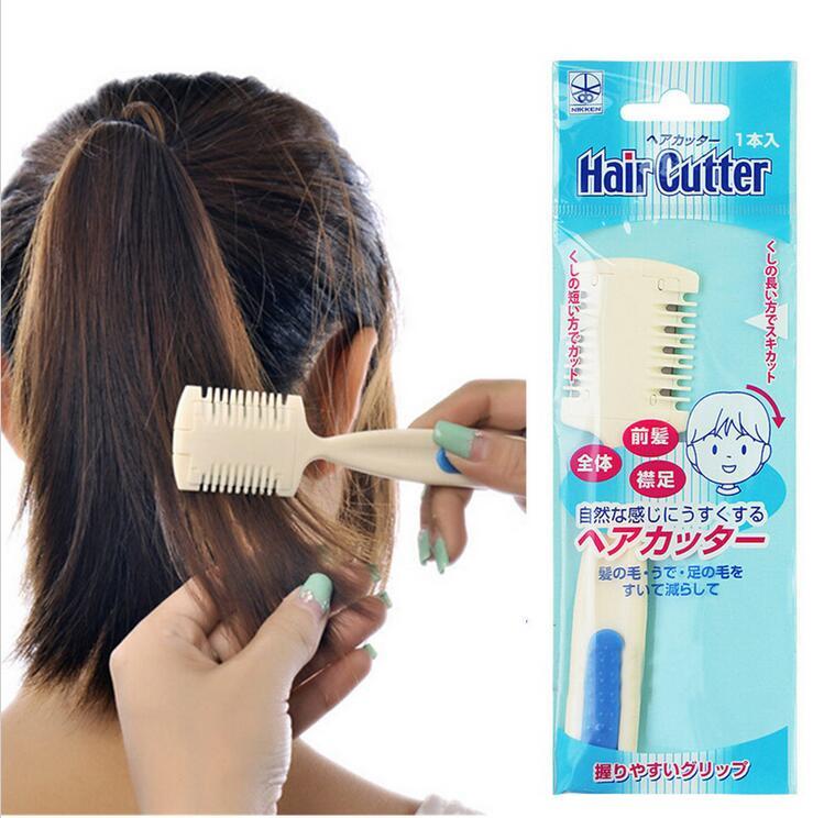 pcs Professional Dual Side Cutting Hair Beauty Trimmer Comb Haircuts Blade Home DIY Cut Thinning Slim Hair Cut Tools ND066(China (Mainland))
