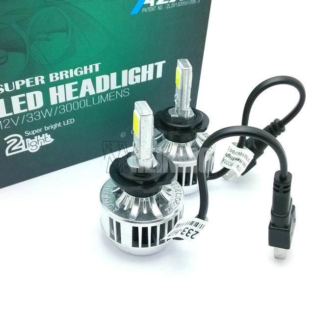1 pair 66W 6000lm H7 COB LED Car Headlights Kit Auto Front Light H7 Fog Bulb Automotive Headlamp h8 h9 h11 9005 hb3 9006 hb4(China (Mainland))