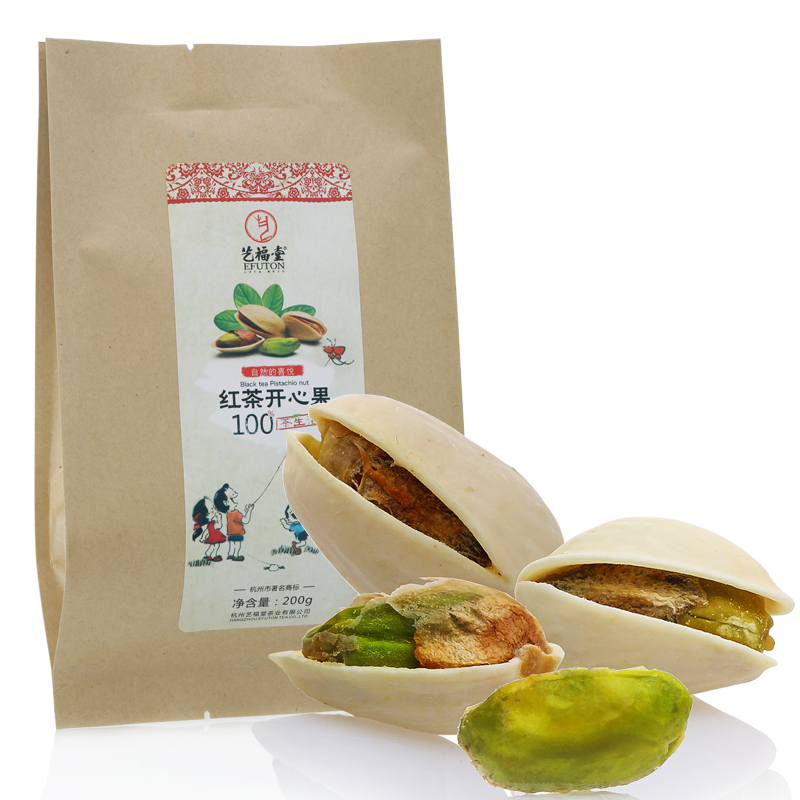 Tea without bleached Snack food pistachio nuts original ecology specialty snack cream flavors 200g buy direct