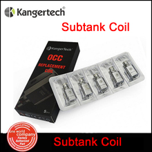 5pcs/lot  Kanger Subtank OCC  Replacement Coil 0.5/1.2/1.5ohm fit for Kangertech  SubTank Plus/Mini/Nano Atomizer China (MM)