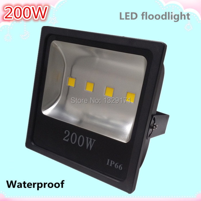 200w 220v led flood light spotlight projecteur led exterieur refletor led foco led exterior