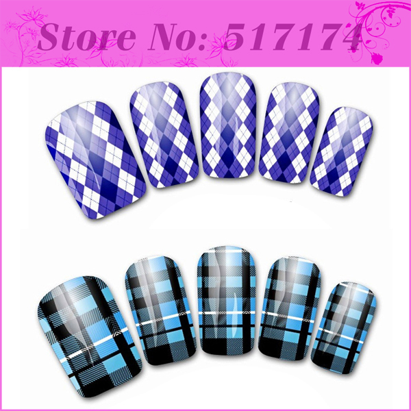 Наклейки для ногтей Brand New 5 Pcs DIY HT0799