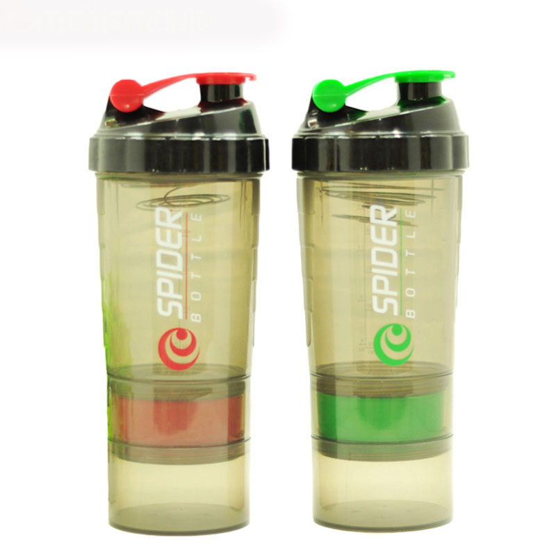 Sports Water Bottle Sport Bottles My Camping Colorful Health Bottle Shaker Frosted Plastic Outdoor cups Kettle HH862(China (Mainland))