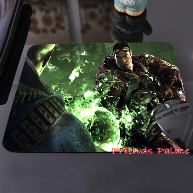 2015 New Arrival Unreal Tournament Video Games Customized Mouse Pad Dark Soldiers Fashion Computer Notebook Durable Mice Mat(China (Mainland))