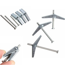 Wholesale M3 SPRING TOGGLE WITH SCREW PLASTERBOARD HOLLOW WALL FIXINGS(China (Mainland))