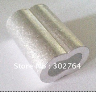 aluminum FERRULES TO SUIT 1.5MM*1000PCS STAINLESS WIRE ROPE free shippingmarine hardware