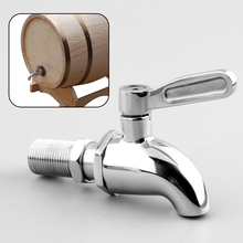 Stainless steel Water Spigot Faucet for Wine Barrel Beverage Dispenser New(China (Mainland))
