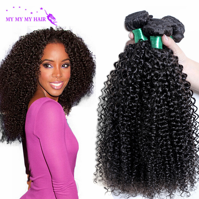 Indian Curly Virgin Hair Kinky Curly 4 Bundles Unprocessed Virgin Indian Hair 7A Grade Curly Weave Human Hair Queen Hair Product