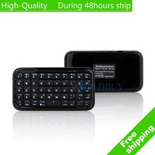 High Quality Ultra Slim Mini Wireless Bluetooth Keyboard For iPad PDA iPhone 4s 4 lenovo PC Free Shipping UPS DHL HKPAM CPAM(China (Mainland))