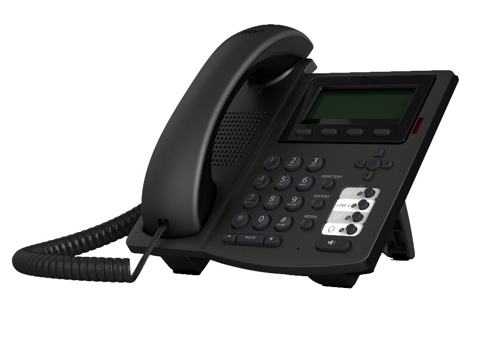 HD voice Voip Phone with 4 Sip Lines, 8 DSS Keys, Open VPN,RJ9 Headset Jack, POE(China (Mainland))