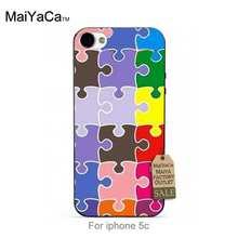 Plants Cactus color puzzle Original Plastic PC phone case cover For case iPhone 5c(China (Mainland))