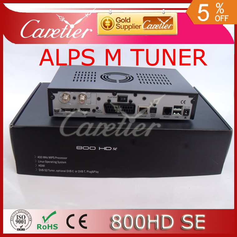 ALPS 801A M tuner 800SE high quality 800se D6 version mainboard 800 HD SE satellite receiver sim 210 DM800HD se(China (Mainland))