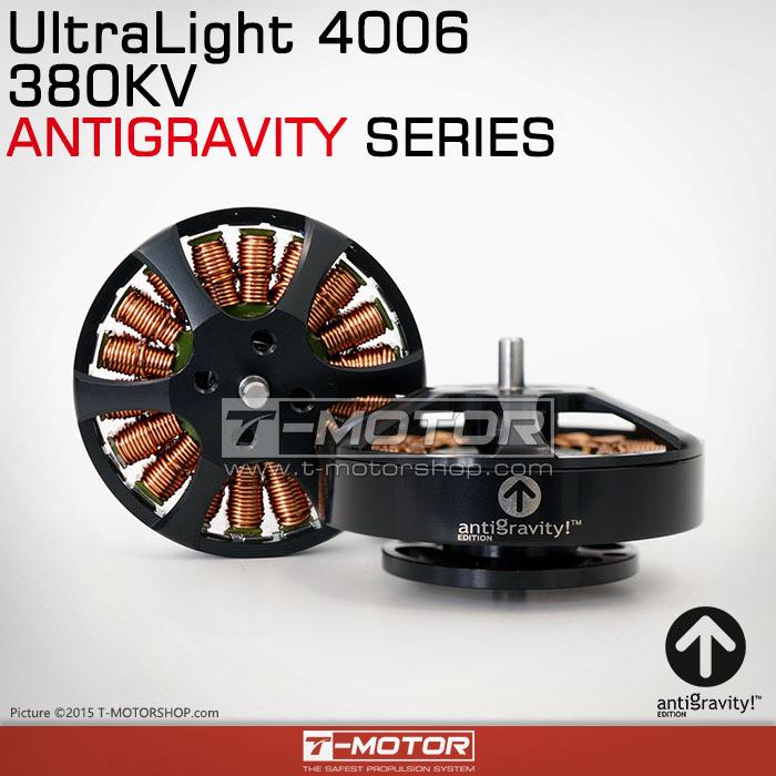 Tiger Motor (T-Motor) Ultra Light Antigravity 4006 380KV Brushless Motor For Multirotor / Multicopter(China (Mainland))