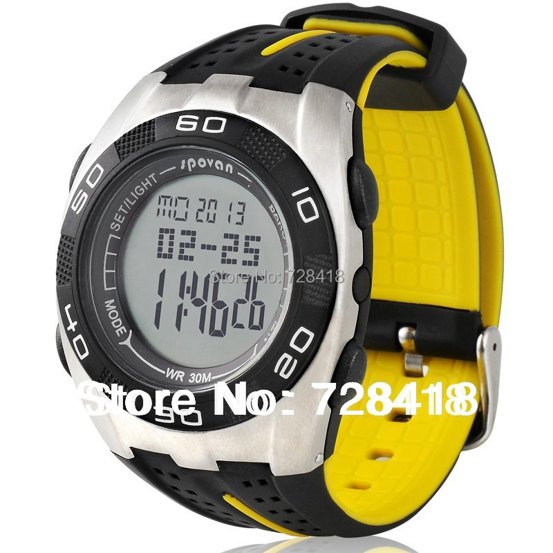 Hotsale Outdoor Spovan Watch Barometer/Altimeter/Thermometer/Weather Forcast Digital Sports Free+Drop Shipping - Shenzhen E-Shopping Store store