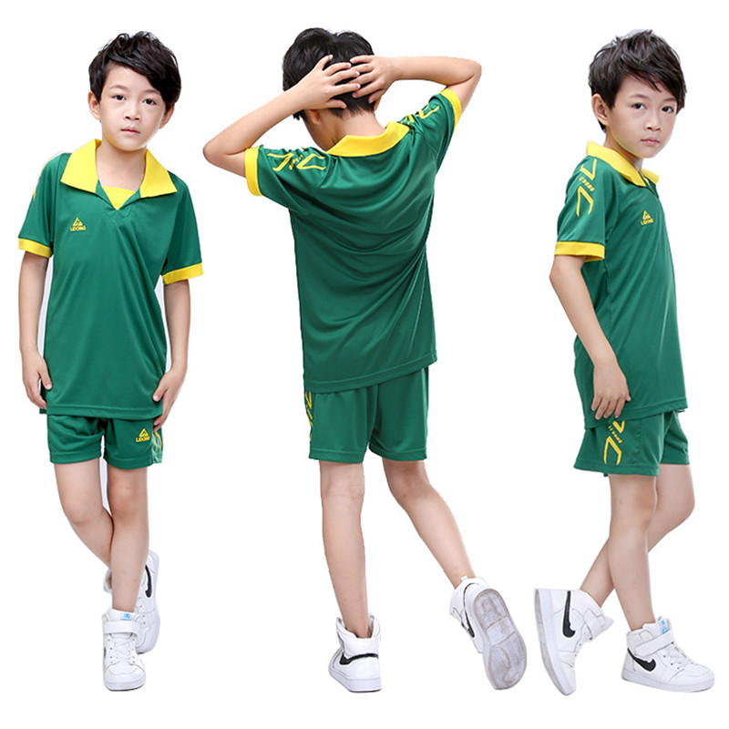 2017 new Kids Child football Soccer sets Jersey Uniforms futbol Youth kits Training suit Breathable Short Sleeve jerseys shirts(China (Mainland))